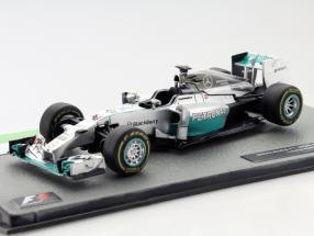 Lewis Hamilton Mercedes F1 W05 Hybrid #44 World Champion formula 1 2014 1:43 Altaya