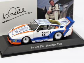 Porsche 935 #22 Winner 6h Silverstone 1981 Röhrl, Schornstein, Grohs 1:43 Spark