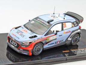 Hyundai i20 WRC #20 Winner Rally Sardinia 2016 Neuville, Gilsoul 1:43 Ixo