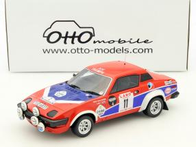Triumph TR7 V8 Groupe 4 #11 Winner Rally Ypres 1980 Pond, Gallagher 1:18 Otto Mobile