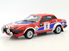 Triumph TR7 V8 Groupe 4 #11 Winner Rallye Ypres 1980 Pond, Gallagher 1:18 OttOmobile