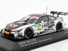 BMW M4 DTM (F82) #1 DTM 2015 Marco Wittmann 1:43 Minichamps
