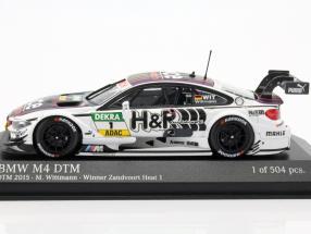 f82 Minichamps 1:43 BMW m4 Team RBM-Blomquist