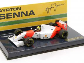 Ayrton Senna McLaren MP4/8 #8 formula 1 1993 1:43 Minichamps