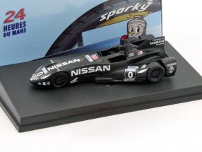 Deltawing Nissan #0 24h LeMans 2012 Franchitti, Crooked, Motoyama 1:64 Spark