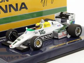 Ayrton Senna Williams Ford FW08C #1 Donington Park Test formula 1 1983 1:43 Minichamps