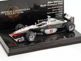 Mika Häkkinen McLaren Mercedes MP4/13 #8 World Champion formula 1 1998 1:43 Minichamps