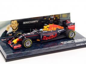 Daniel Ricciardo Red Bull RB12 #3 Aero Shield test Russia GP F1 2016 1:43 Minichamps