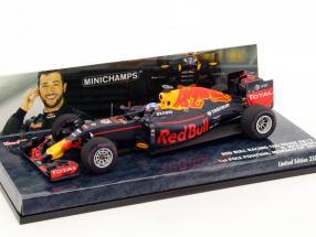 D. Ricciardo Red Bull RB12 #3 1st Pole position monaco GP F1 2016 1:43 Minichamps