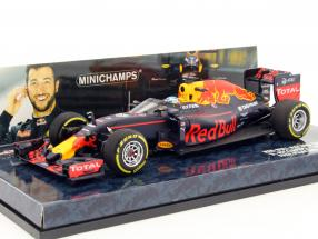 Daniel Ricciardo Red Bull RB12 #3 Aero Shield test Russia GP F1 2016 1:43 Minichamps