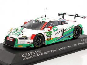 Audi R8 LMS #29 GT-Masters 2016 de Phillippi, Mies 1:43 Minichamps