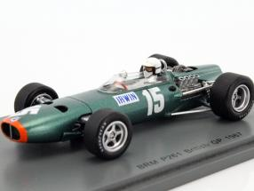 Chris Irwin BRM P61/2 #15 Great Britain GP formula 1 1967 1:43 Spark
