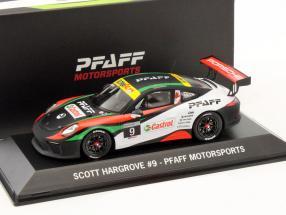 Porsche 911 (991) GT3 #9 GT3 Cup 2017 Scott Hargrove 1:43 Spark