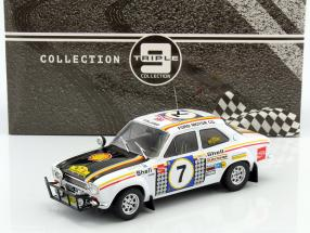 Ford Escort MK 1 RS 1600 #7 Winner Safari Rally 1972 Mikkola, Palm 1:18 Triple9