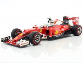 Sebastian Vettel Ferrari SF16-H #5 GP Italy formula 1 2016 1:18 BBR