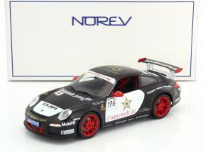 Porsche 911 GT3 RS #176 Team Ring Police SportsCup 2011 1:18 Norev
