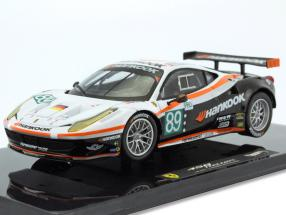 Ferrari 458 Italia GT2 #89 24h LeMans 2011 Team Farnbacher 1:43 HotWheels Elite