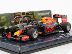 Daniel Ricciardo Red Bull RB12 #3 Halo Test Free Practice Belgien GP Formel 1 2016 1:43 Minichamps