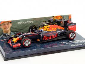 Max Verstappen Red Bull RB12 #33 3rd Germany GP formula 1 2016 1:43 Minichamps