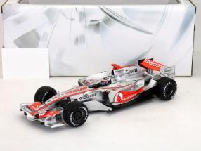 Fernando Alonso McLaren MP4-22 formula 1 2007 1:18 HotWheels