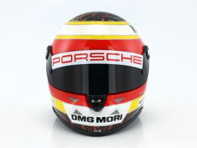 Timo Bernhard Porsche 919 Hybrid WEC-Champion 2015 helmet 1:2 Schuberth