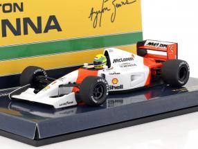 Ayrton Senna McLaren MP4/7 #1 formula 1 1992 1:43 Minichamps