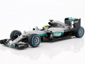 Lewis Hamilton Mercedes F1 W07 Hybrid #44 Sieger Brasilien GP Formel 1 2016 1:18 Minichamps