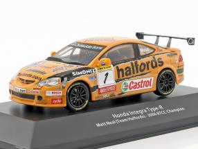 Honda Integra Type-R #1 BTCC Champion 2006 Matt Neal 1:43 Atlas