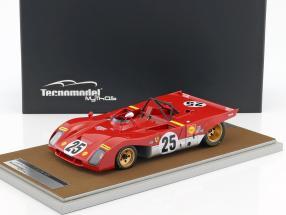 Ferrari 312PB #25 12h Sebring 1971 Andretti, Ickx 1:18 Tecnomodel