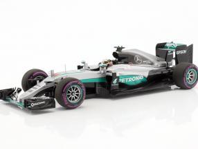Lewis Hamilton Mercedes F1 W07 Hybrid #44 Winner Abu Dhabi GP formula 1 2016 1:18 Minichamps