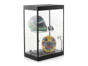 Single cabinet with 2 mobile Led lamps for model cars in the scale ,1:24,1:43