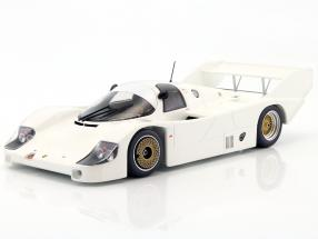 Porsche 956K Plain Body Version year 1982 white 1:18 Minichamps