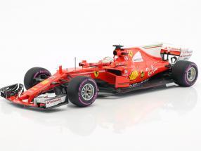 Sebastian Vettel Ferrari SF70H #5 Winner Australia GP formula 1 2017 1:18 BBR