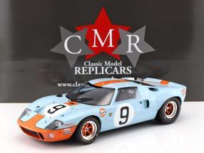 Ford GT 40 MK I Gulf #9 Winner 24h LeMans 1968 Rodriguez, Bianchi 1:12 CMR