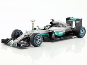 Nico Rosberg Mercedes F1 W07 Hybrid #6 Sindelfingen Demo Run world champion F1 2016 1:18 Minichamps