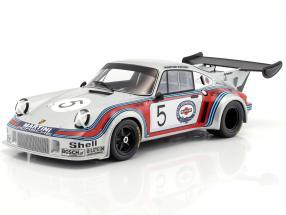Porsche 911 Carrera RSR Turbo 2.1 #5 1000km Brands Hatch 1974 Müller, van Lennep 1:18 Norev
