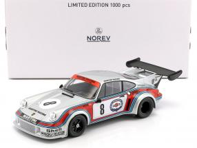 Porsche 911 Carrera RSR Turbo 2.1 #8 750km Nürburgring 1974 Müller, van Lennep 1:18 Norev