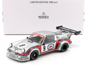Porsche 911 Carrera RSR Turbo 2.1 #9 2nd 6h Watkins Glen Müller, van Lennep 1:18 Norev