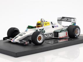 Ayrton Senna Williams Ford FW08C #1 Juli-Test Donington Park Formel 1 1983 1:18 Minichamps