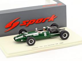 Jochen Rindt Cooper T81 #8 3rd German GP formula 1 1966 1:43 Spark