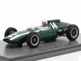 Bruce McLaren Cooper T60 #14 Winner Monaco GP formula 1 1962 1:43 Spark