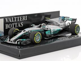 Valtteri Bottas Mercedes F1 W08 EQ Power  #77 Spanish GP Formel 1 2017 1:43 Minichamps