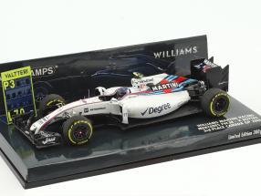 Valtteri Bottas Williams FW38 #77 3rd Kanada GP Formel 1 2016 1:43 Minichamps