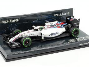 Felipe Massa Williams FW38 #19 almost last Race formula 1 2016 1:43 Minichamps
