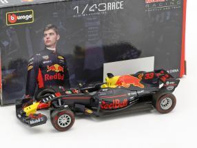Max Verstappen Red Bull RB13 #33 formula 1 2017 1:43 Bburago