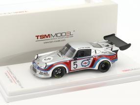 Porsche 911 Carrera RSR Turbo #5 5th 1000km Brands Hatch 1974 Müller, van Lennep 1:43 True Scale