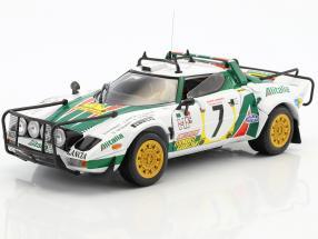 Lancia Stratos HF Rally #7 3rd Safari Rallye 1977 Munari, Sodano 1:18 SunStar