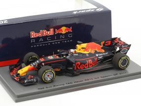 Daniel Ricciardo Red Bull RB13 #3 3rd Spanien GP Formel 1 2017 1:43 Spark
