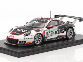 Porsche 911 (991) GT3 R #117 4th 24h Spa 2017 Team Promo Edition 1:43 Spark