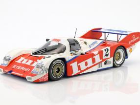 Porsche 962 C Brun Motorsport #2 3rd 1000km Nürburgring 1987 Mass, Larrauri, Pareja 1:18 Minichamps